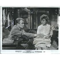 1965 Press Photo Glynis Johns Actress James Stevart