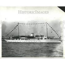 1932 Press Photo Wellingborough River Tributary London