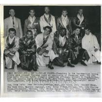 1959 Press Photo Pan-American Games