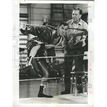 1970 Press Photo Tony Randall Jack Klugman Actors THE ODD COUPLE