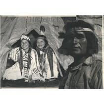 1940 Press Photo Hopi Indians De Smet Idaho Ceremony