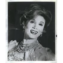 1967 Press Photo Dorothy Sarnoff Theatre Actress