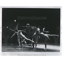 1972 Press Photo Viola Farber Dance Company