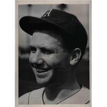1941 Press Photo Athletics Third Baseman Bob Chipman