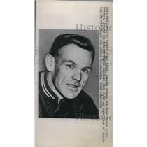 1947 Press Photo Detroit Tiger baseball, Robert( Red) Rolfe
