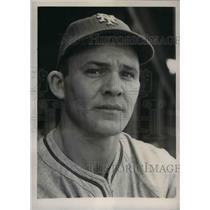 1941 Press Photo New York Giants outfielder James Maynard at spring camp, Miami