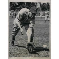 1941 Press Photo James Walter Maynard New York Giants Outfielder