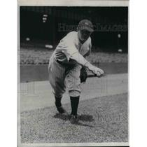 1934 Press Photo NY Yankees pitcher, Johnny Broach - nea07711