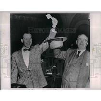 1954 Press Photo Harold Sauverbrei Cleveland Browns - nea16146