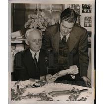 1939 Press Photo Manager of Washington Senators Bucky Harris - nea09891