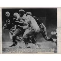 1951 Press Photo Eagles vs Steelers #49 Ortmann, Grant # 86.#63Walston