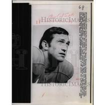 1971 Press Photo Denver Broncos, Veteran Quarterback of Philadelphia Eagles. ,
