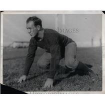1928 Press Photo Louis Pitto football guard for University of California