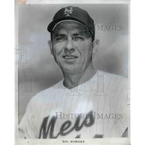 1971 Press Photo New York Mets manager Gil Hodges