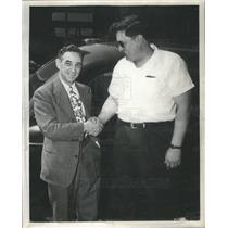 1946 Press Photo Frank Maury And Norman Kunert - RSC78605