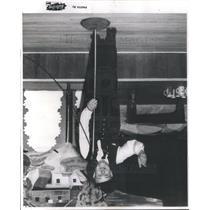 1952 Press Photo Picture of Fritz Rathert , Casino Entertainer. - RSC72677