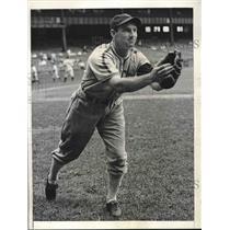 1939 Press Photo Gerald Walker Outfielder White Sox Trade To Washington Senators