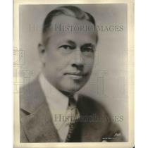 1929 Press Photo Reinald Werrenrath, Baritone