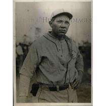 1928 Press Photo Miller Harris, Philadelphia Athletics