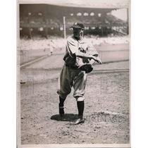 1934 Press Photo Detroit Tigers Pitcher Alvin Crowder During Game