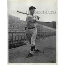 1936 Press Photo Chicago Cubs baseball Joe Marey