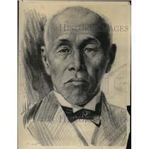 1923 Press Photo Marquis Okuma of Japan - nea38994