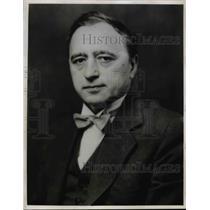 1943 Press Photo Matthew Woll, AFL Vice-President