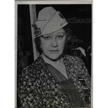1935 Press Photo Chief Petty Officer US Navy Julia Wheelock - nea59485