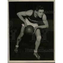 1928 Press Photo Russel Walter, Northwestern University Basketball Center