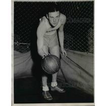 1931 Press Photo Joe Riel, Guard for Northwestern University
