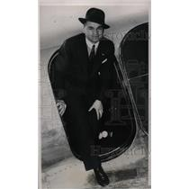 1939 Press Photo Stanley Kluzek, pilot for NY to Warsaw flight - nea66122