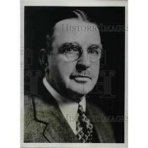 1933 Press Photo George J. Gillespie, Superior Council of the Society of Vincent
