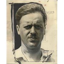 1928 Press Photo John P. Wood, winner of National Air Tour