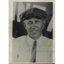 1929 Press Photo Pilot Of The Mono Plane Owen Haughland Setting New Record