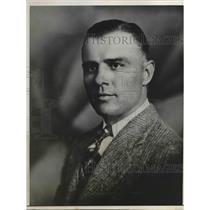 1932 Press Photo E. Robbins, Operations Manager, Nome Base, Alaskan Div.