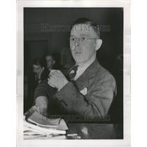 1938 Press Photo Former Young Communist Gurnaey - RRT06349