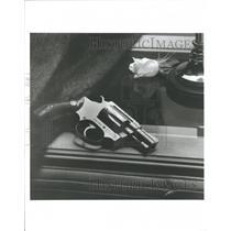1989 Press Photo Smith Wesson Ladysmith Handguns Guns - RRT85679