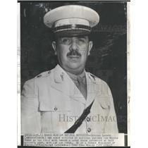 1949 Press Photo General Lazard Carenas was named minis - RRT64371