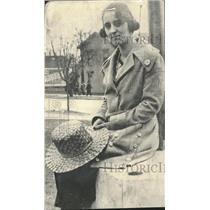 1920 Press Photo Actress Vera Schneider - RRT66813