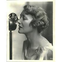 1934 Press Photo Dramatic Star of Stage Screen - RRT61291