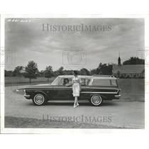 1961 Press Photo Ramble Ambassador's station wagon