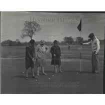 1929 Press Photo Edgebrook Golf Course Women - RRT30371