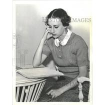 1936 Press Photo Peggy Landon & Alf Landon - RRT99197