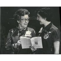 1976 Press Photo Volunteers Recognition Luncheon Girl