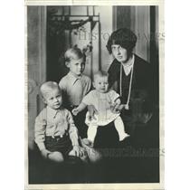 1928 Press Photo Bert Hassell Parker Cramer Rescue - RRT50129
