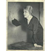 1934 Press Photo Los Angeles CA. Historical religion