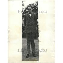 1921 Press Photo Calvin Coolidge Jr 30th President U.S.