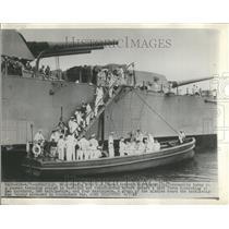 1947 Press Photo 2000 US Naval Academy Midshipman - RRT21925