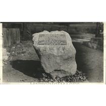 1924 Press Photo Isaac Funk  Funk Stubble Field