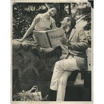 191958 Press Photo Judy Guyll Melody Circus Botford Inn